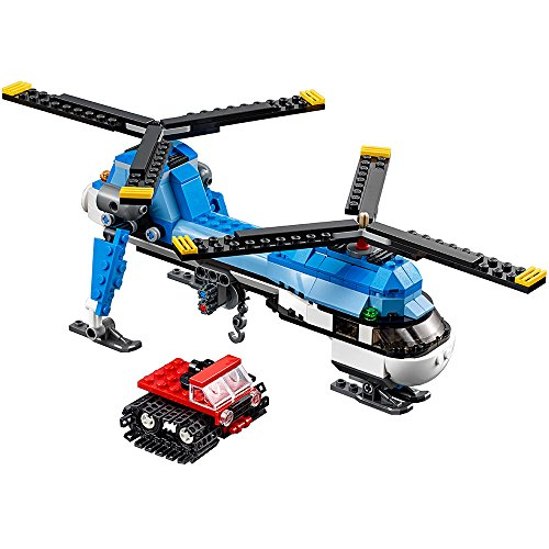 LEGO Creator 31049 Twin Spin Helicopter Building Kit (326 Piece) by LEGO