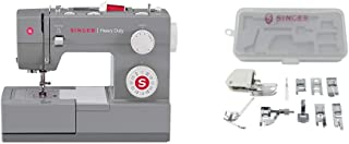 SINGER | Heavy Duty 4432 Sewing Machine with Accessory Kit, Including 9 Presser Feet, Twin Needle, and Case