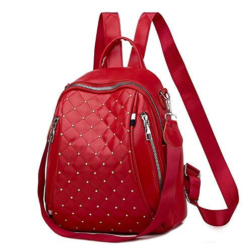 Backpack Women 2020 New Rhombus Bag Women Fashion All-Match School Bag Leisure Travel Backpack