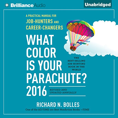 What Color is Your Parachute? 2016 audiobook cover art