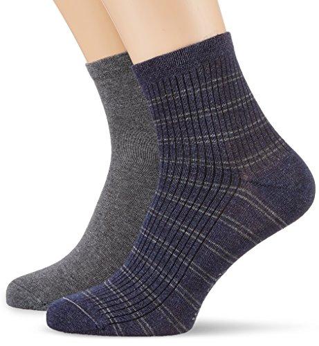 Marc O´Polo Body&Beach Herren M-Socks 2-Pack, Blau (Jeansblau 816), 39/42