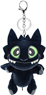 Modi Toothless Night Fury Plush Toy Doll Stuffed Animal Key Chain,How to Train Your Dragons 1 2 Defenders of Berk 3