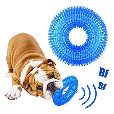 GHEART Dog Toys, Indestructible Dog Toys, Dog Chew toys, Dog Squeaky Toy, Dog Teething Toys, Dog Teeth Cleaning Chews, Interactive Dog Toys for Small and Medium Dogs