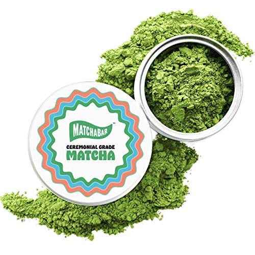 MatchaBar Ceremonial Grade Matcha Green Tea Powder | Antioxidants, Energy, & Amino Acids | Premium, First Harvest from Kagoshima, Japan | 30g