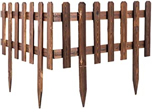 round top picket fence panels