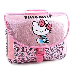 51u3ejTk58L. SS300  - Jacob & Co. Schoolbag Hello Kitty - Mochila Infantil, 41 cm, Color Rosa