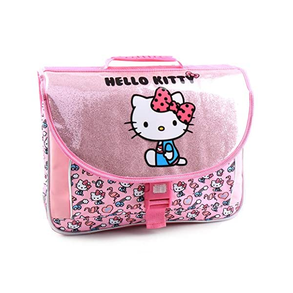 51u3ejTk58L. SS600  - Jacob & Co. Schoolbag Hello Kitty - Mochila Infantil, 41 cm, Color Rosa