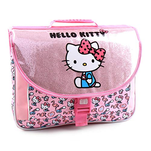 51u3ejTk58L - Jacob & Co. Schoolbag Hello Kitty - Mochila Infantil, 41 cm, Color Rosa
