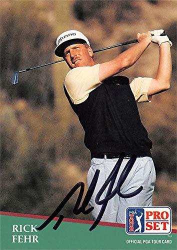 %10 OFF! Rick Fehr autographed trading card (Golf, PGA Tour, BYU Cougars, SC) 1991 Pro Set #33 - Aut...