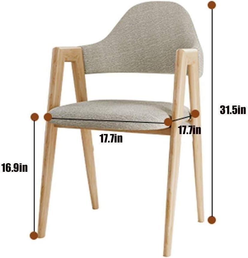 HYL Chaises de Salle à Manger Accueil Salle à Manger Chaise Restaurant de Style Nordique Chaise de Bureau Moderne et Minimaliste Dossier de Chaise d'ordinateur (Color : #1) #8