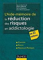 L'aide-mémoire de la réduction des risques en addictologie - En 22 fiches d'Alain Morel