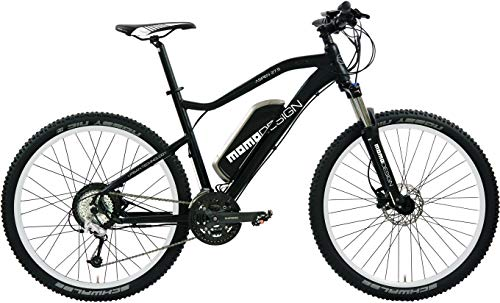 Momo Aspen, Mountain Bike 27.5' Unisex – Adulto, Nero/Bianco, Pollici