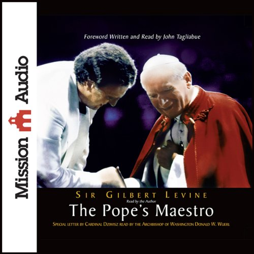 The Pope's Maestro audiobook cover art