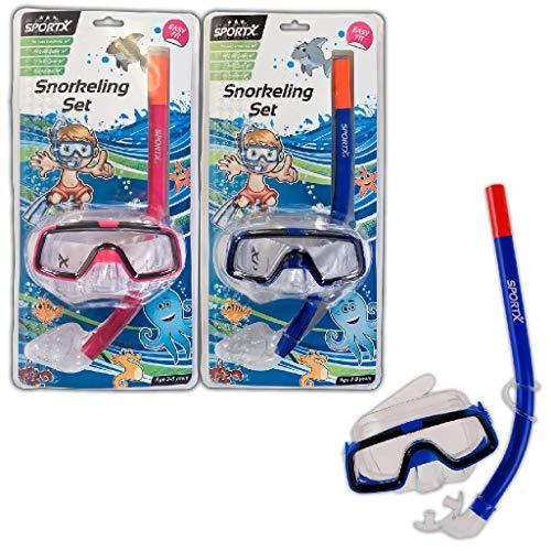 Sportx - 0768004 - Aide À La Nage - Kids Set Snorkeling Comfort