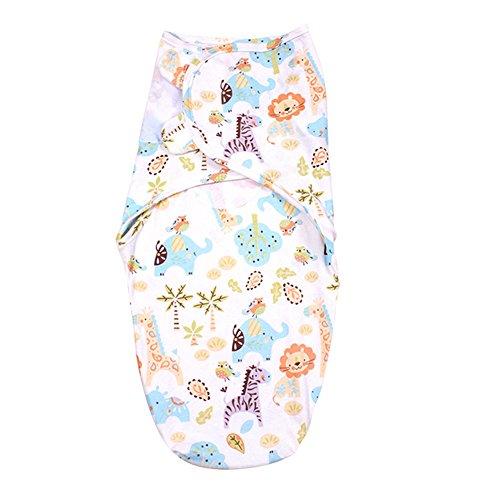 エルフ ベビー(Fairy Baby)新生児おくるみ コットン モロー反射対策 可愛い動物園