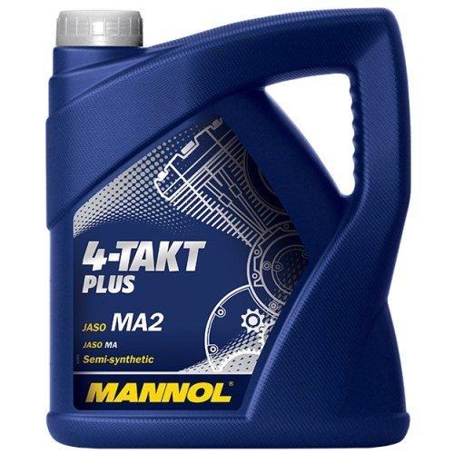 MANNOL 4-Takt Plus API SL, 4 Liter