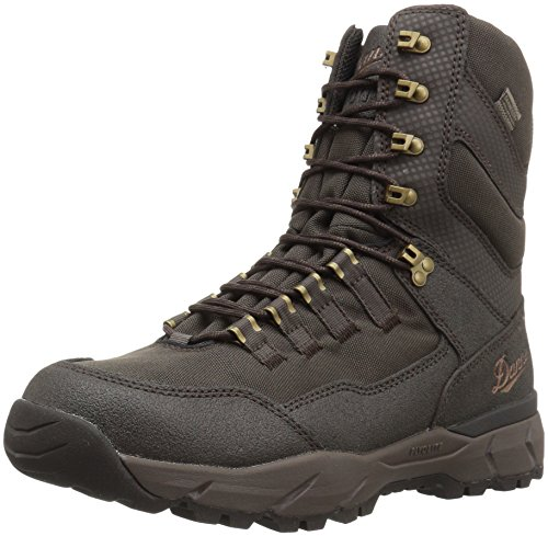 "Danner men's 41556 vital 8"" insulated 400g hunting shoe, brown - 13 m"