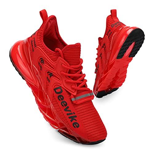 Deevike Zapatillas de correr para mujer, zapatillas de senderismo, antideslizantes, para mujer, 35-42EU, color, talla 36 EU