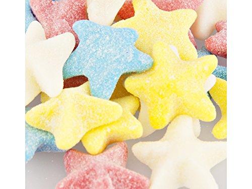 Sour Gummi Sea Stars 1 Pound Bag - Bulk Sour Gummi Candy