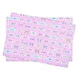 ランチョンマット 女の子 子供用 おしゃれ 布 給食 ランチョンマット ラージタイプ リボンデコレーション N3689520