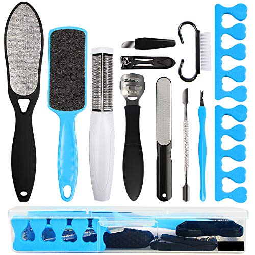 Professional Pedicure Kit SOFYE Foot Files Set Tools Double Sided Files...