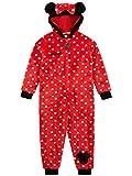 Disney Pijama Entera para niñas Minnie Mouse Rojo 2-3 Años