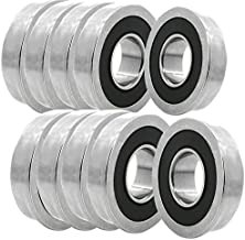 10x FR8-2RS Ball Bearing 1/2 x 1-1/8 x 5/16 in 2RS RS Rubber