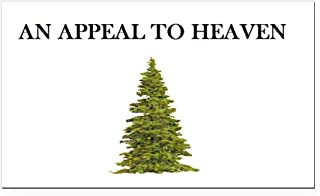 CafePress - an Appeal to Heaven - Rectangle Car Magnet, Magnetic Bumper Sticker