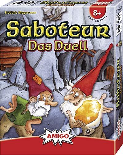 Saboteur - Das Duell: AMIGO - Kartenspiel