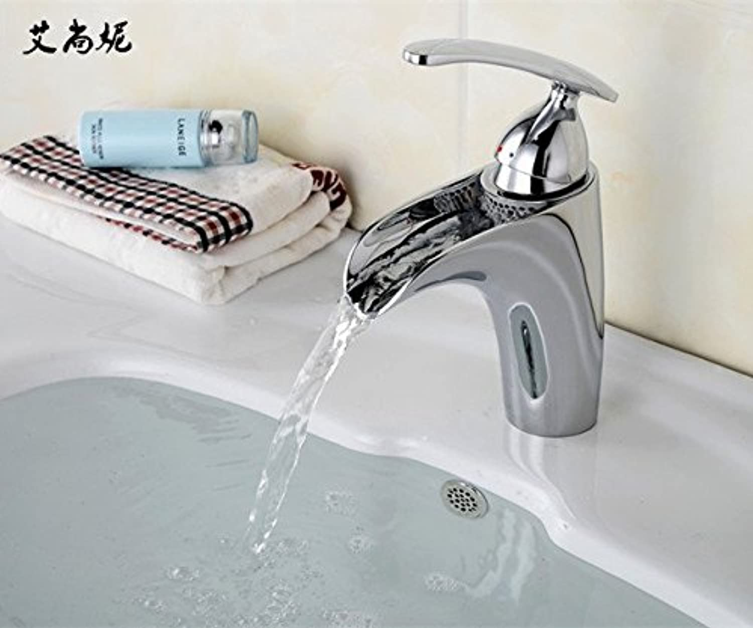 Gyps Faucet Basin Mixer Tap Waterfall Faucet Antique Bathroom Mixer Bar Mixer Shower Set Tap antique bathroom faucet Mr. Sang Ni plated sink faucet waterfall, plated faucets basin mixer,Modern Bath