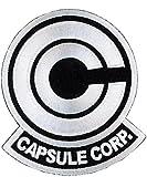 Titan One Europe - Capsule Corp. Dragon Z Parche Bordado Termoadhesivo (Blanco)