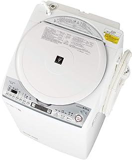 シャープ 洗濯機 洗濯乾燥機 穴なし槽 インバーター プラズマクラスター 搭載 F:ホワイト系 ESTX8D-W