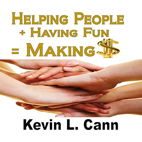 Helping People + Having Fun = Making $ audiobook cover art