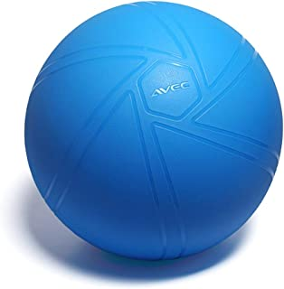Yoga Ball Thickened Explosion-Proof Boys and Girls Fitness Ball  Pregnant Women can use Balance Weight Loss Ball (Color : Blue, Size : 55CM)