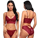 NAUGHTY WISH Hot & Sexy Women Hot Honeymoon Babydoll Lingerie Maroon (Free Size)