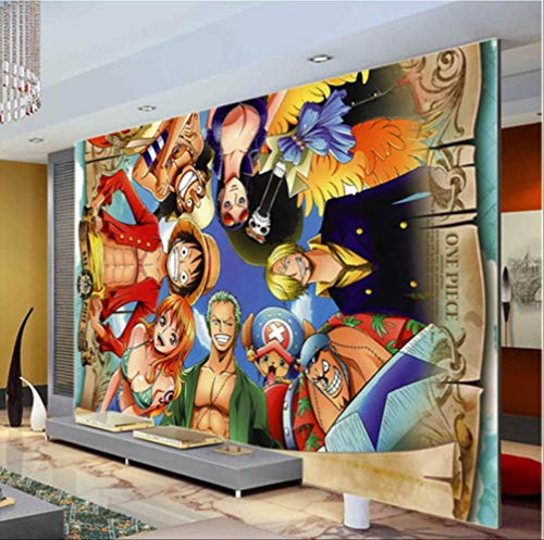 FangXUEPING een stuk muur, muur, afbeeldende Japanse anime, custom, grote fotobehang, cartoon kamerdecoratie, muur, kunst, slaapkamer, kinderkamer, gratis schip Breite300cm * Höhe210cm Pro