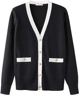 [もうほうきょう]カーディガン レディース 女の子上着 ボタンジャケット 女の子スウェット 秋冬新型