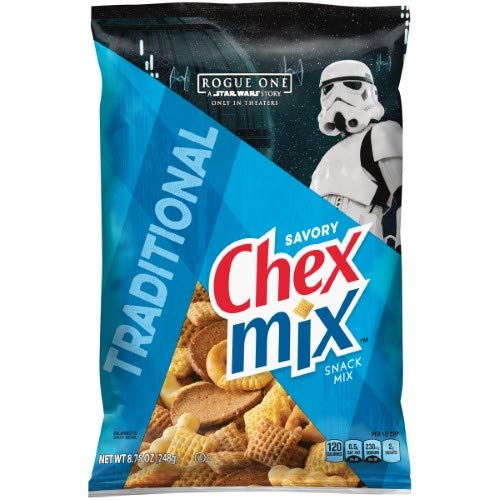 Chex Mix Snack Mix, Traditional (Pack of 2)