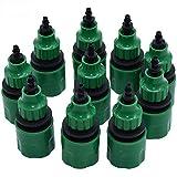 10 unidades de 1/4 'manguera de jardín conector rápido de agua a 1/2 3/4 macho...