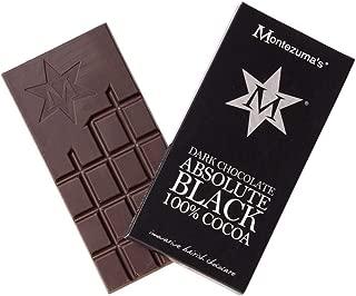 Absolute Black Dark Chocolate 100 Per Cent Cocoa 3.5 ounce