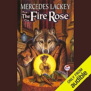 The Fire Rose audiobook cover art