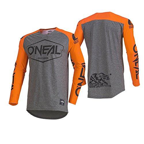 O'NEAL Mayhem Hexx MX Jersey Trikot lang grau/orange 2020 Oneal: Größe: L (52/54)