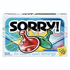 """CLASSIC SORRY! GAMEPLAY: Get ready for classic Sorry! gameplay with an edge-of-your-seat race to home, so hurry up and get there first UNPREDICTABLE FUN BOARD GAME: The Sorry! game is known as the game of """"sweet revenge"""" since players can send each o..."""