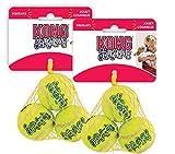Best Kong Balls - KONG Air Squeaker Tennis Balls Small Two Pack Review