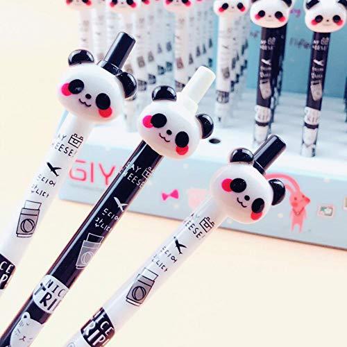 3X Kawaii Panda Press Automatic Mechanical Pencil School Office Supply Student Stationery 0.5mm