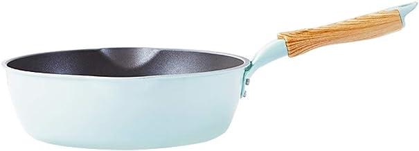 DPWH Cooking Utensils Frying Pan, Green Pan Non-stick Household Omelette Steak Pot Deep Frying Pan Multi-function Wok Less...