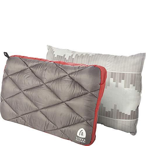 Sierra Designs DriDown 650fill Pillow - Red