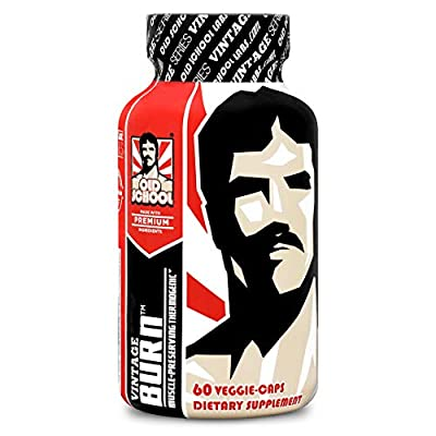 Old School Labs Vintage Burn Muscle-Preserving Thermogenic Fat Burner, Appetite Suppressant Weight Loss Supplement, for Men & Women