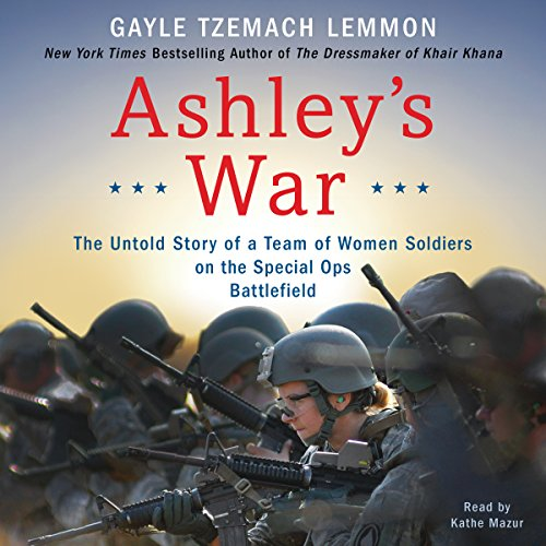 Ashley's War audiobook cover art