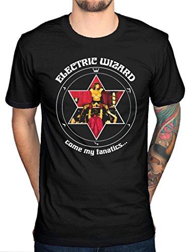 Official Electric Wizard Come My Fanatics T-Shirt English Doom Metal Music Band